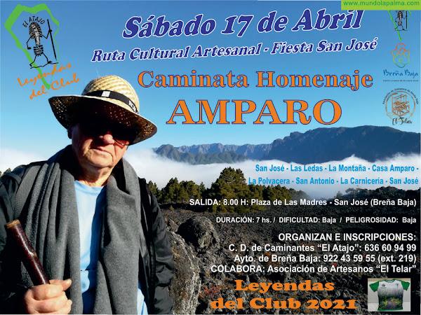 """EL ATAJO: Caminata Artesanal y Homenaje """"Amparo"""""""
