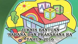 Juknis Pengembangan Bantuan Sarana Dan Prasarana Raudhlatul Athfal (RA) Tahun 2016