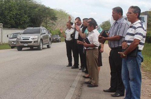 Oración por conductores en la ruta