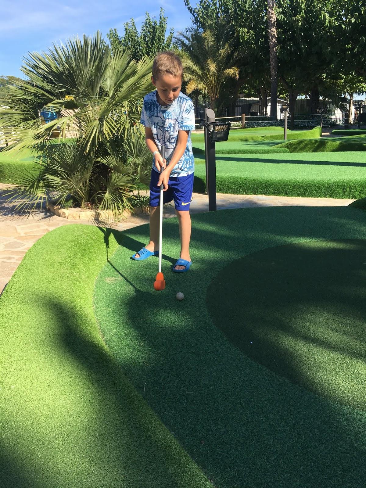 golf dla dzieci