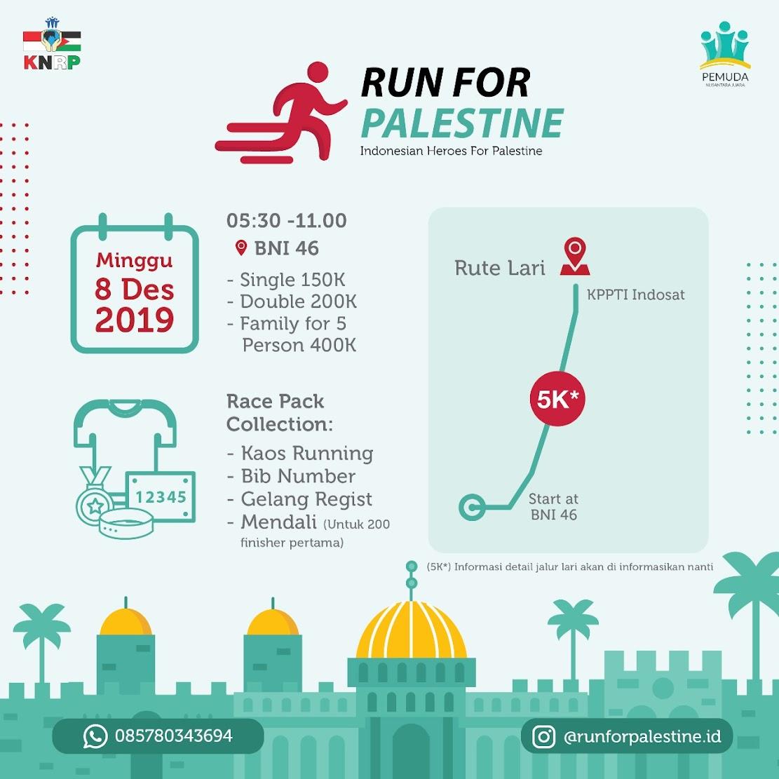Run for Palestine • 2019
