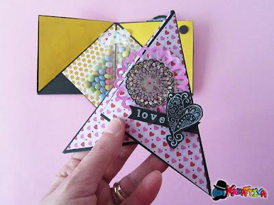 Pyramid Card per San Valentino