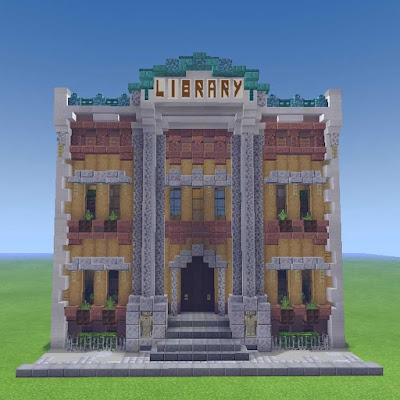 10+ Minecraft Library Ideas And Designs | Patchescrafts