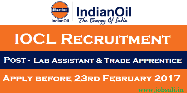 IOCL Apprenticeship jobs, IOCL Careers, Indian Oil Recruitment