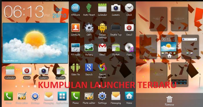 Kumpulan Aplikasi Launcher Untuk Smartphone Android