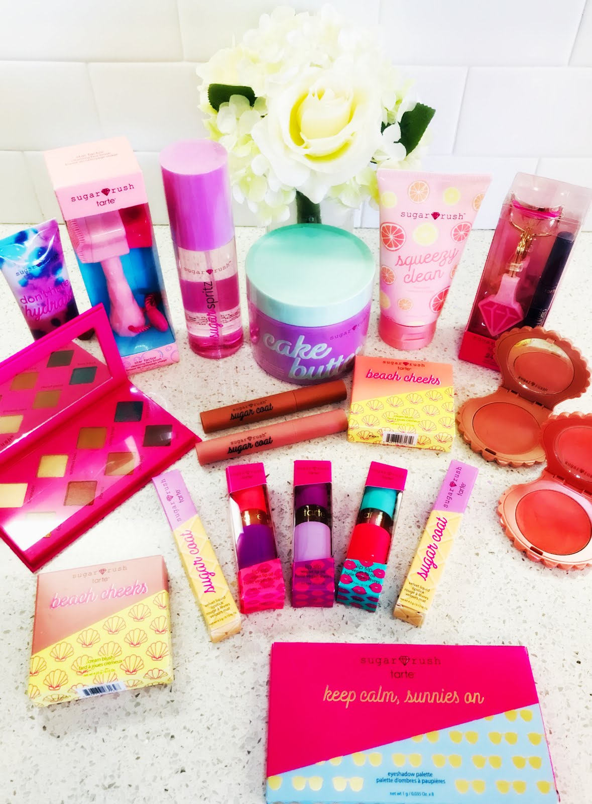 Get Beautiful with tarte's New sugar rush™ Line! #rethinknatural