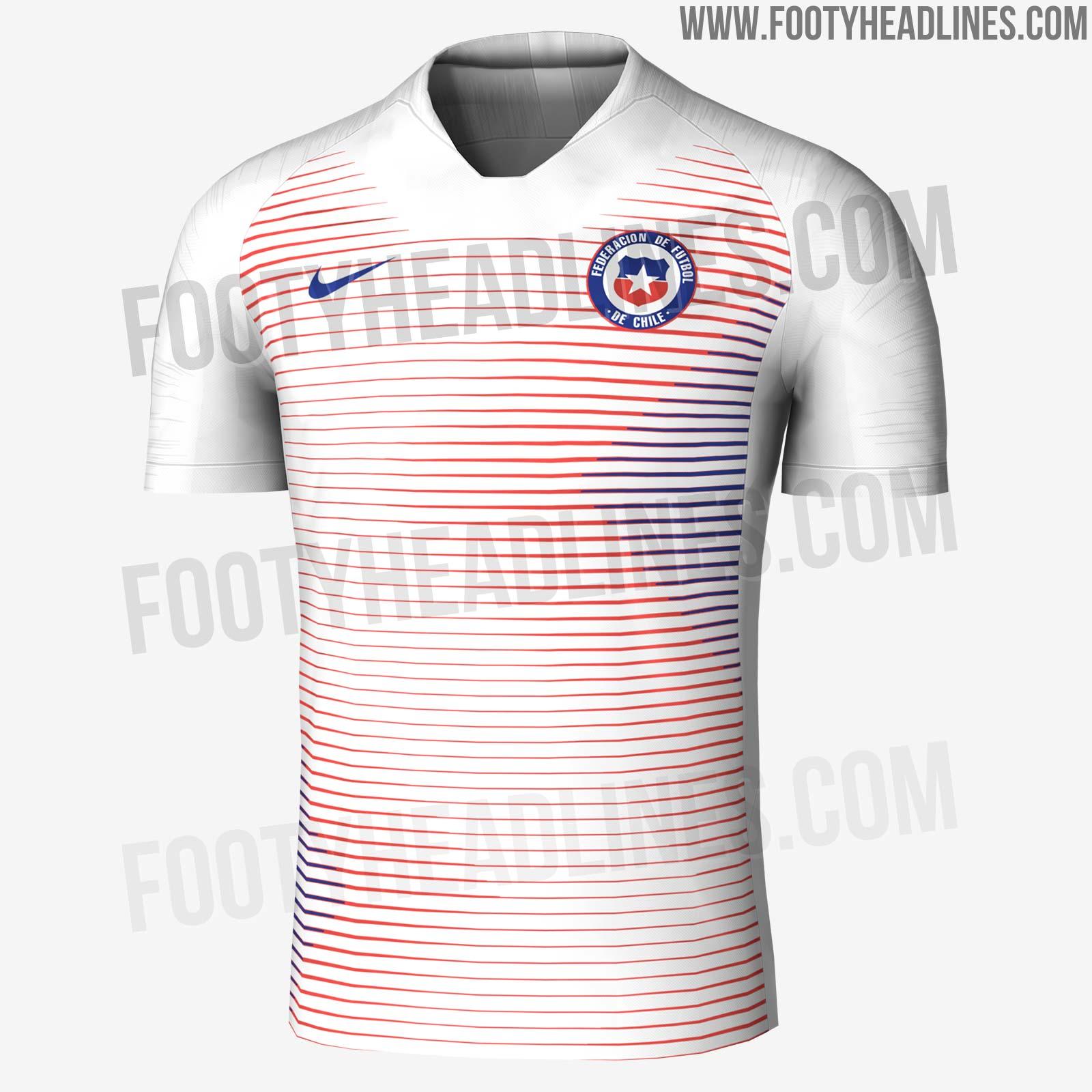 681c03e55 Chile 2018 Away Kit Leaked | Futbolgrid