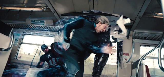 Quicksilver împotriva Răzbunătorilor în The Avengers: Age Of Ultron