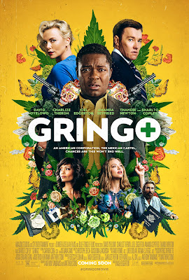 Gringo 2018 [Dual Audio] 720p | 480p BRRip ESub x264 [Hindi-Eng] 900Mb |350Mb