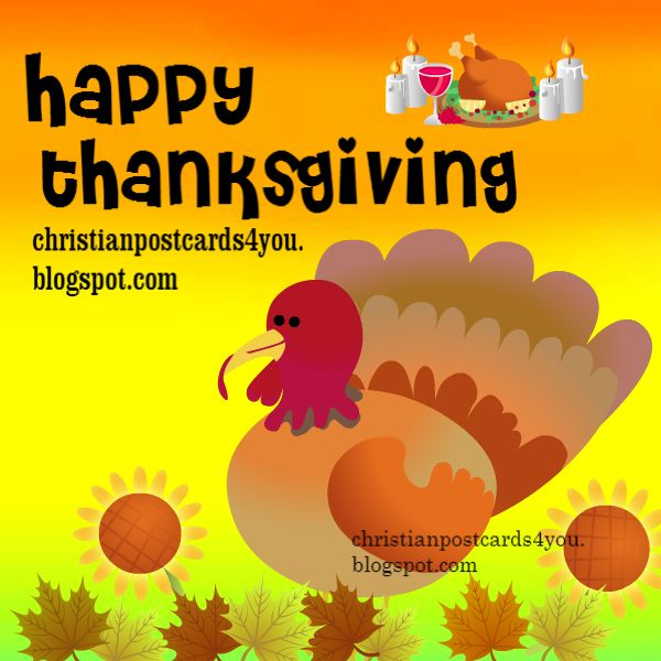 image with turkey to celebrate happy thanksgiving