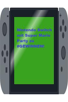 Nintendo Switch mit Super Mario Spiel zu gewinnen