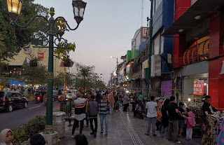 Yogyakarta, Maliboro Street.