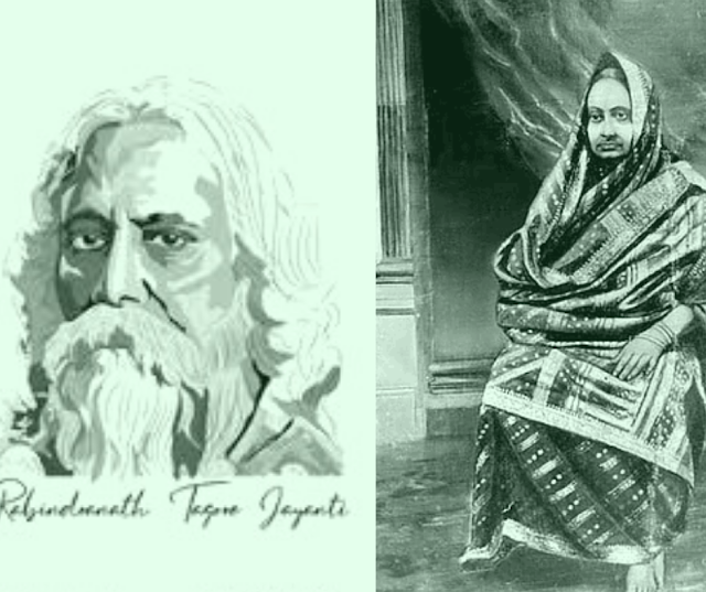 Today is the 25th of Baishakh ,Rabindra Jayanti and  Mother's Day , The chemistry of his mother's relationship with the poet is at stake