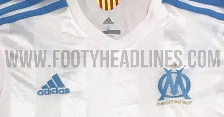 exclusive pic olympique marseille 17 18 home kit leaked