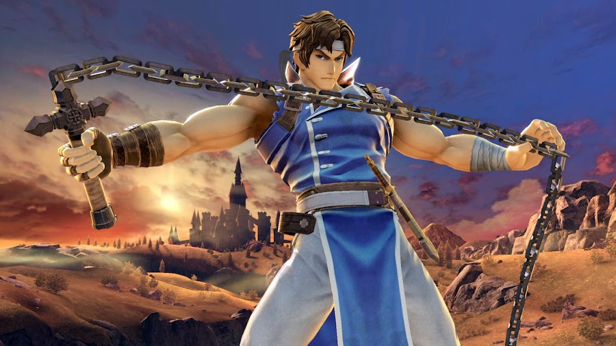 richter belmont super smash bros ultimate nintendo direct