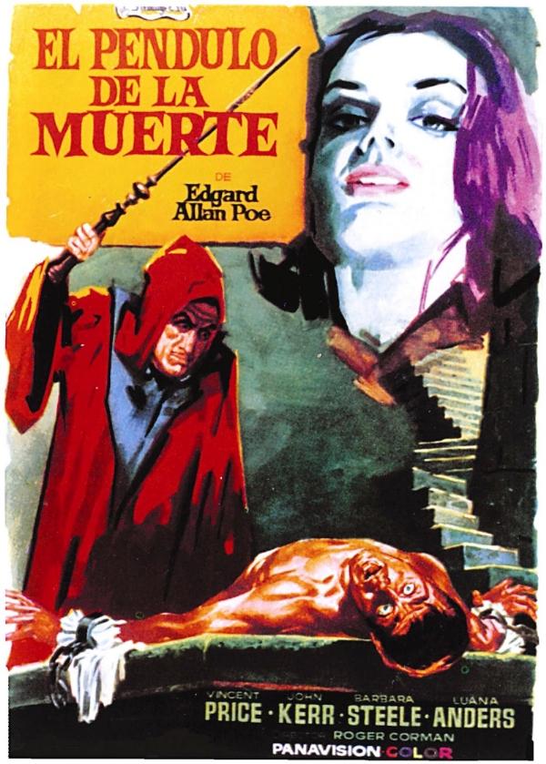 Baxter La Vista >> THE PIT AND THE PENDULUM (1961) LA FOSA Y EL PÉNDULO / EL PÉNDULO DE LA MUERTE / EL POZO Y EL ...