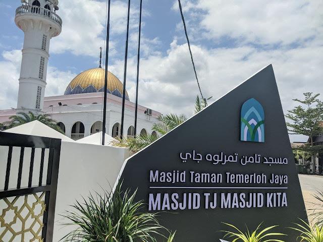 masjid temerloh jaya 2021
