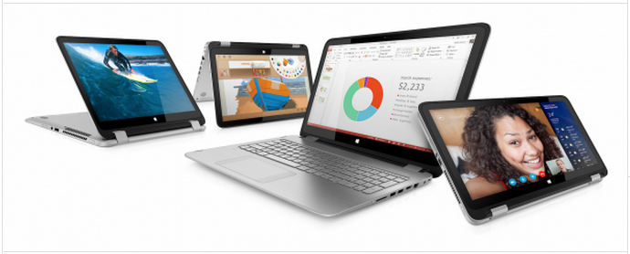 HP Announced Envy x360 And Pavilion x360 Notebooks, Can Say Tablets