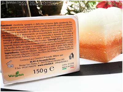 opinioni Nhemis Cosmetics - spugnoselle - arancia cannella
