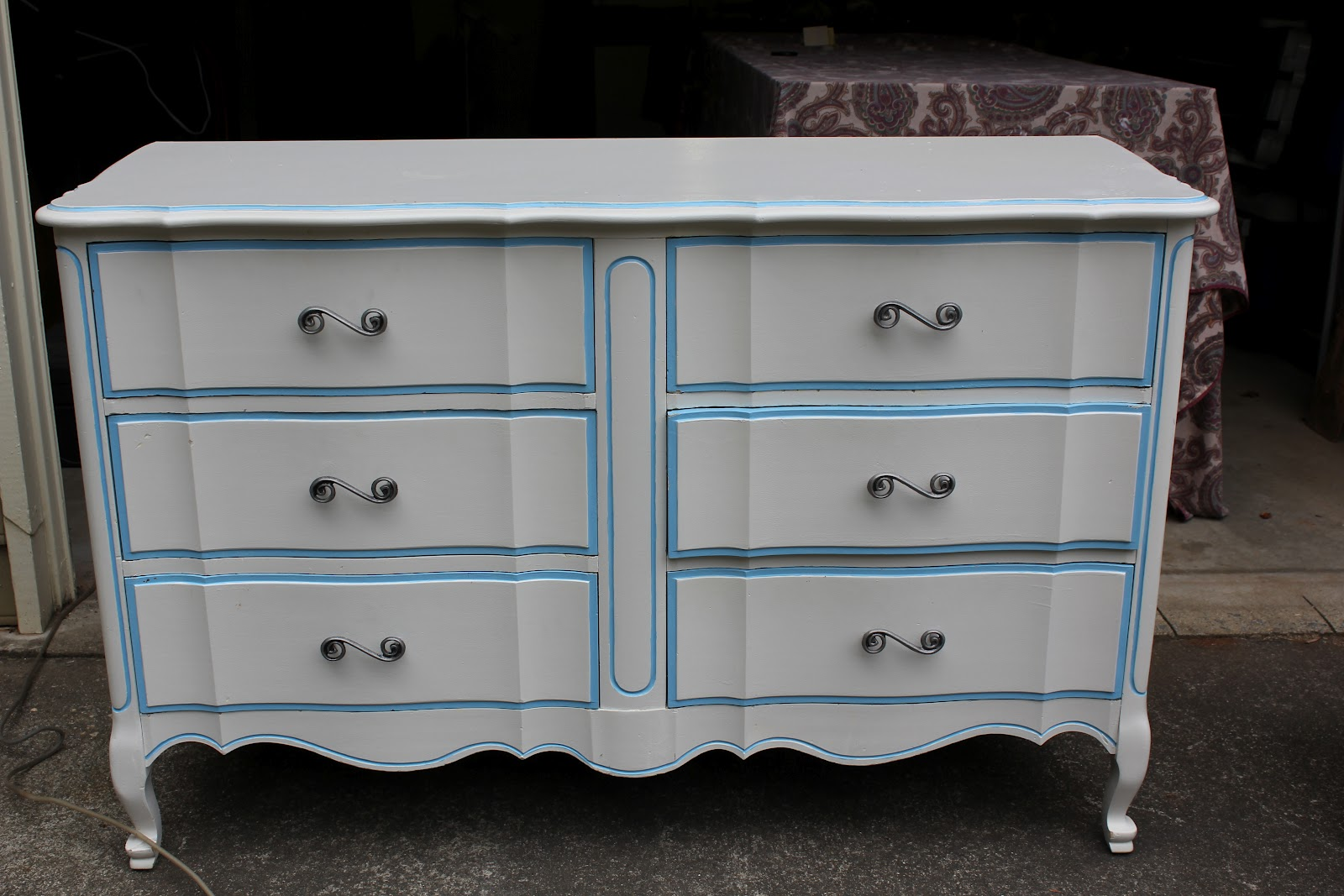 Painted French Provincial Furniture Modern Diy Art Designs