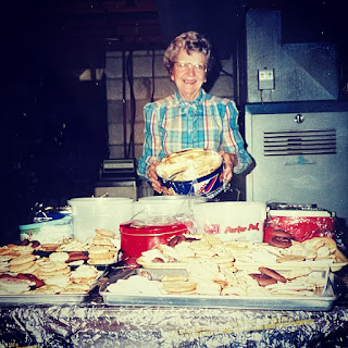 Mamaw with her cookies