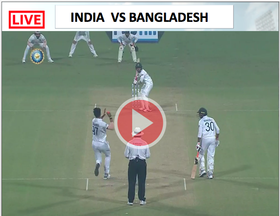 Watch Live Match India vs Bangladesh - 2nd TEST match 7 NOV, India needs 4 wicket