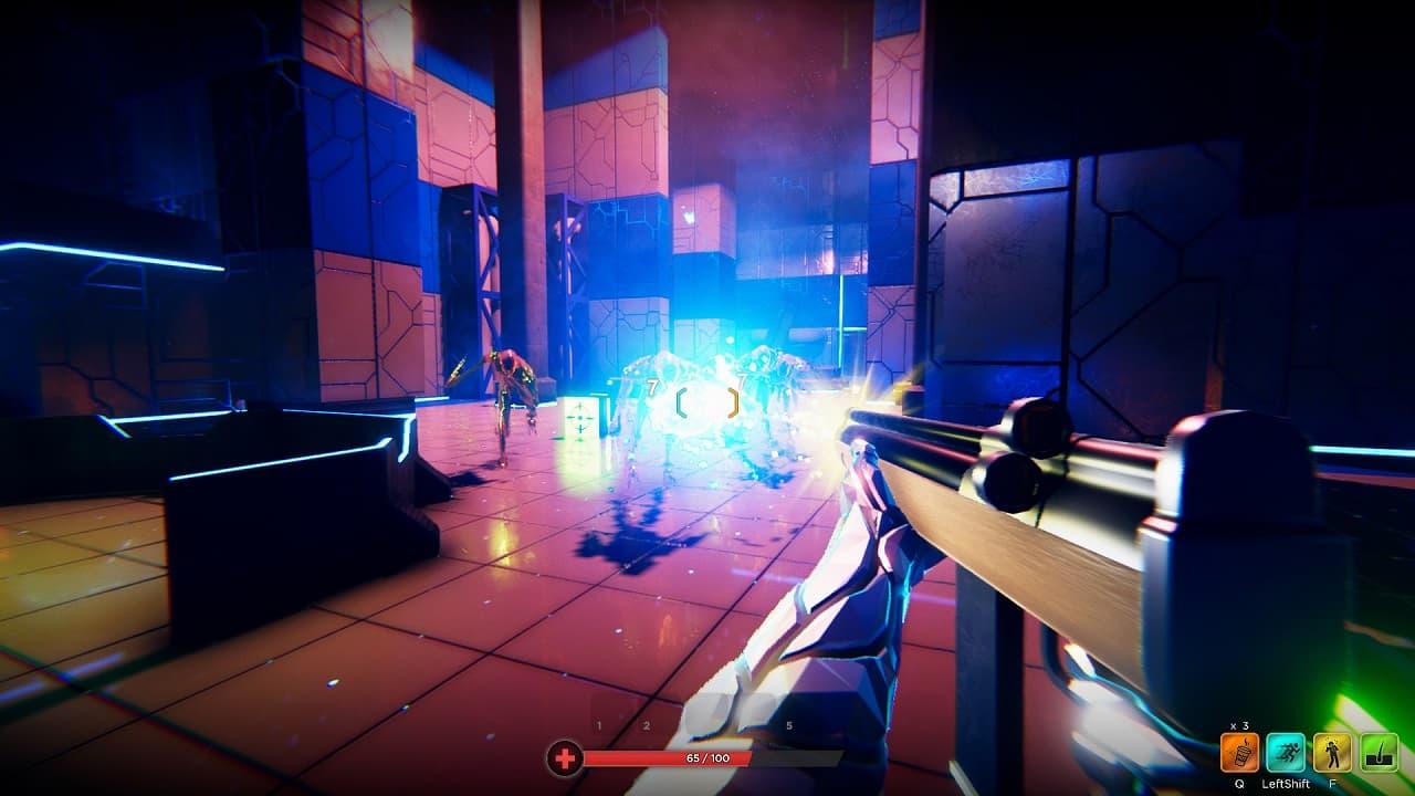 HYPERGUN, Sci Fi, Rogue-like, FPS, Indie Game, Preview, фантастика, рогалик, шутер, инди-игра, превью, первый взгляд