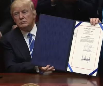 President Trump signs joint resolution 44 to give States oversight of environmental regulations