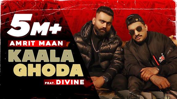 Kaala Ghoda Song Lyrics | AMRIT MAAN x DIVINE | Latest Punjabi Song 2021 | New Punjabi Song 2021 Lyrics Planet