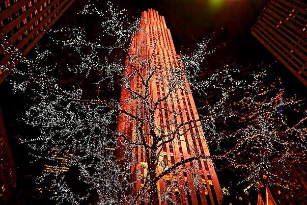 Rockefeller Center NYC winter