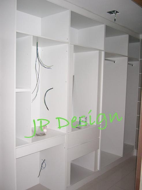 Jp Design Sliding Door Anti Jump System Wardrobe In Kuala