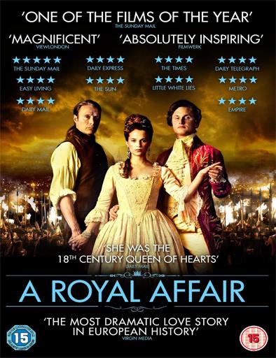 Ver La reina infiel (En kongelig affære) (2012) Online