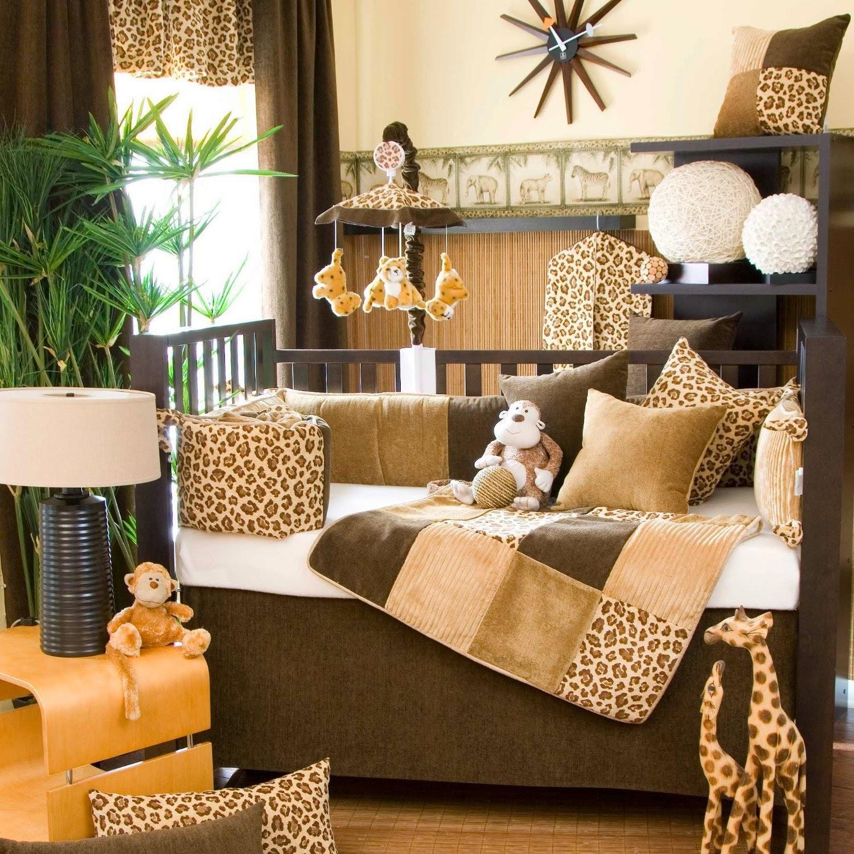 Animal Leopard And Cheetah Print Jungle Baby Nursery