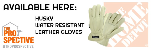 husky water resistant leather gloves