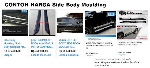 harga-dan-Fungsi-Side-Body-Moulding