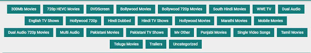 7StarHD Categories