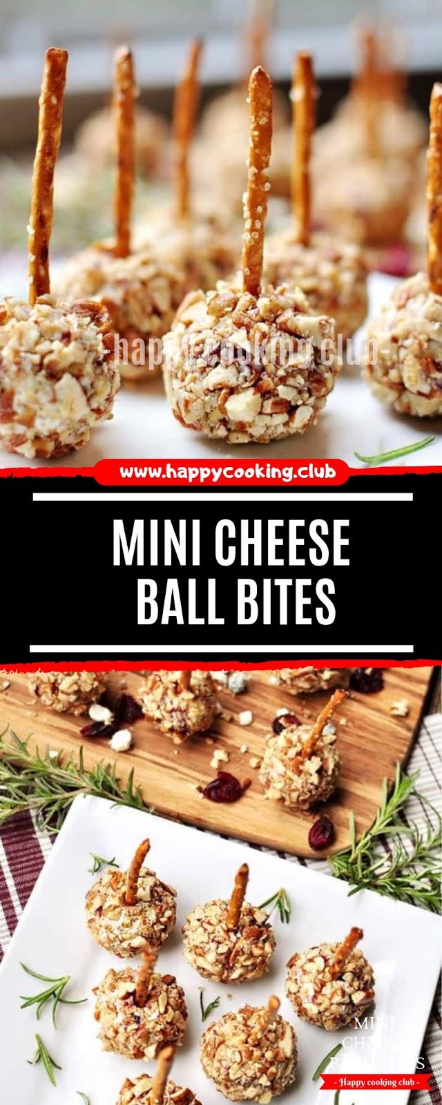 Mini Cheese Ball Bites Recipe