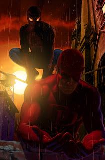 Spiderman+Daredevil+Greg+Horn