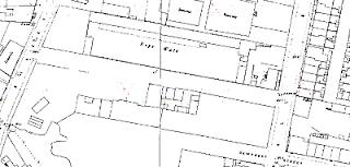 Gorton's Ropery, OS map, 1891.