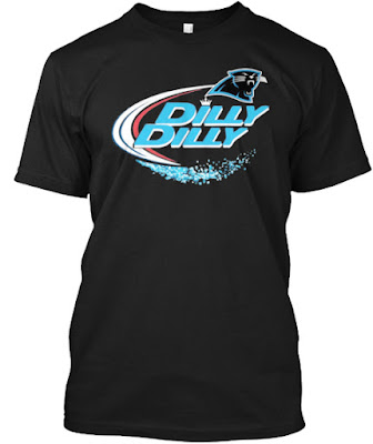 Carolina Panthers Dilly Dilly T Shirt and Hoodie
