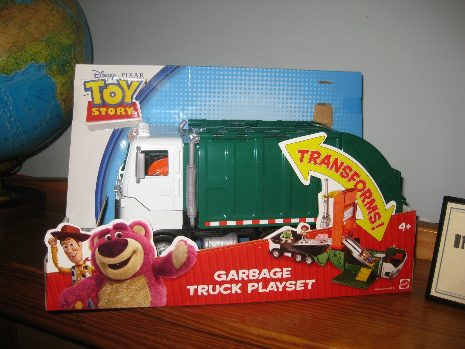 Fisher price imaginext toy story 3 garbage truck