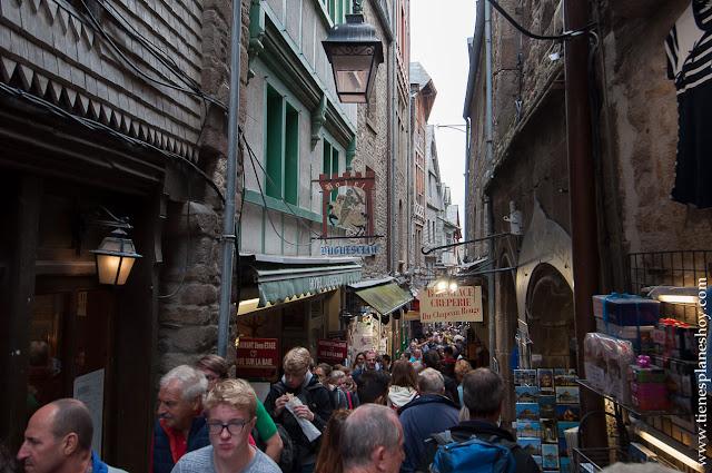 Mont Saint-Michel viaje Normandia Francia visita