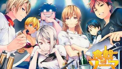 anime food wars season 5