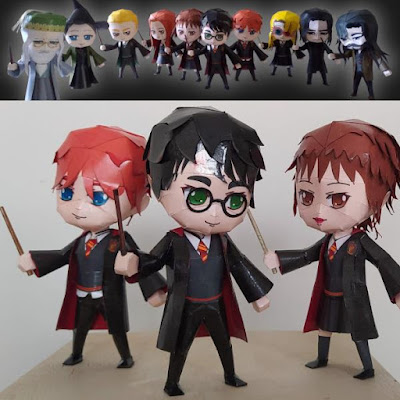 Harry Potter Bastelbogen