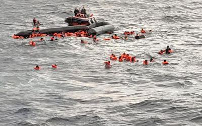 naufrage au large des côtes libyennes