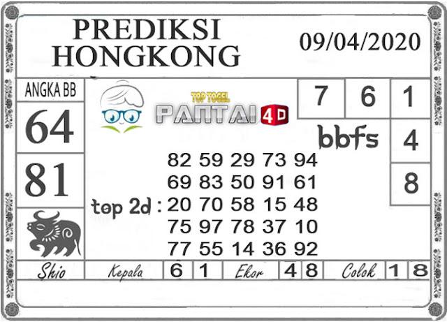 PREDIKSI TOGEL HONGKONG PANTAI4D 09 APRIL 2020