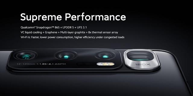 Xiaomi Mi 10 inductive charging