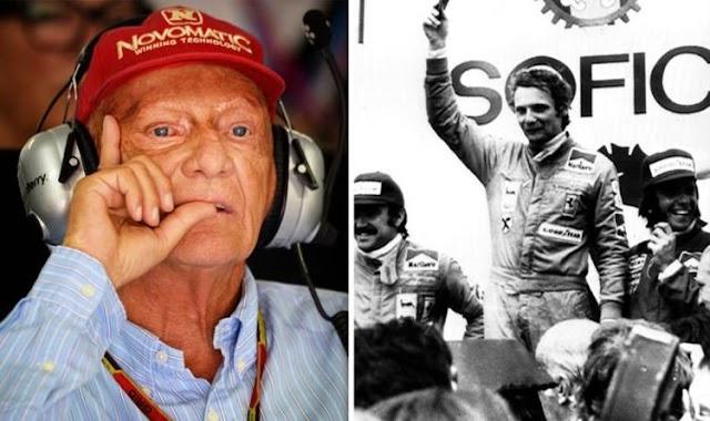 """Pembalap Legenda F1 Andreas Nikolaus """"Niki"""" Lauda Menghembuskan Nafas Terakhir"""