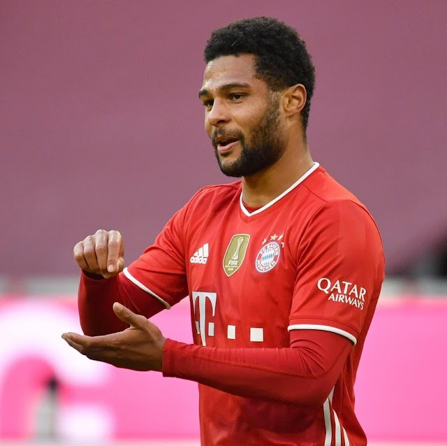 OFFICIAL: Gnabry tested positive for COVID-19
