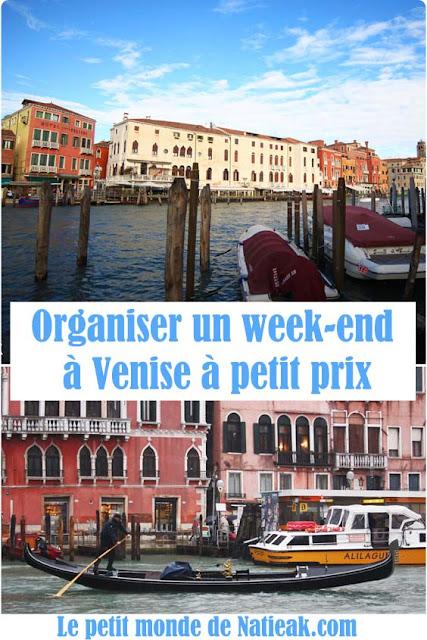 bon plan pour un week-end pas cher à Venise